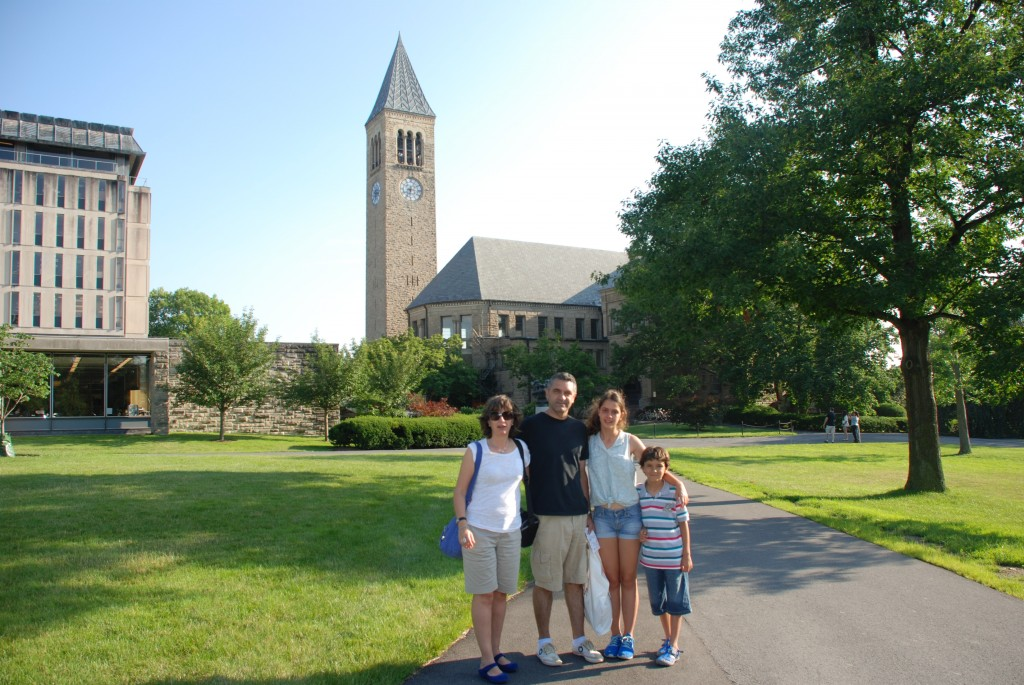 Cornell University, New York... Many Years after...